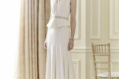 Románticos vestidos de novia de Jenny Packham 2014