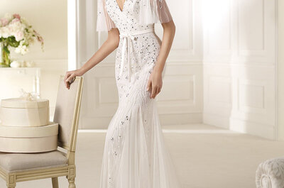 Vestidos de novia corte sirena Pronovias 2013