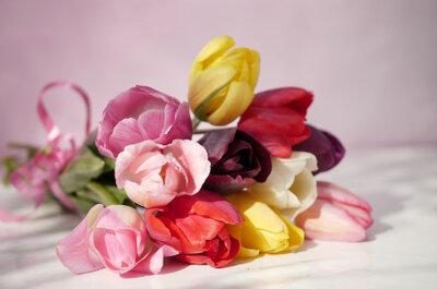 Tulpen: ungewöhnliche Hochzeitsblumen für Ihren Brautstrauss und Ihre Hochzeitsdekoration