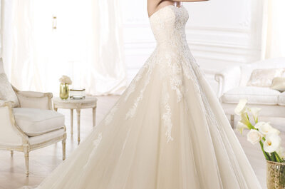 Os mais incríveis vestidos de noiva com tule para 2015: sinta-se uma princesa