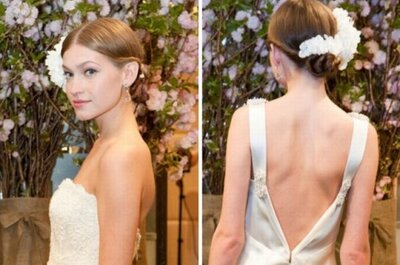 Bridal hairstyles trends for 2013 from NY Bridal Fashion Week