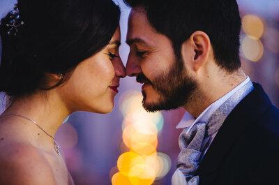 El matrimonio de Alejandra y Sebastián, amor y magia en estado puro
