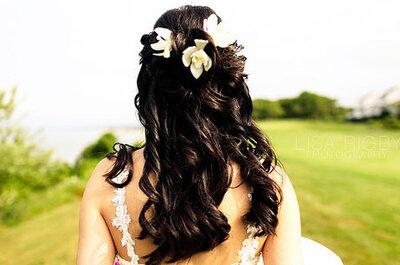 Trend 2011: Brautfrisur mit Haarverlängerung Extensions