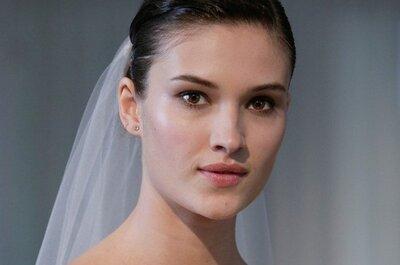 Trendy w makijażu ślubnym 2014: Minimalizm
