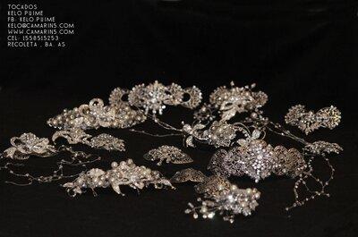 Kelo Puime presenta alta bijouterie en accesorios de cabello para novias