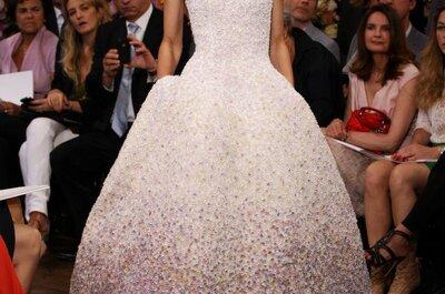 Brautmode 2013 von Dior - Ein Haut-Couture-Traum
