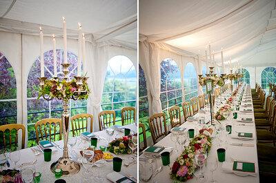 6 ideas de combinación de colores para la decoración de la boda