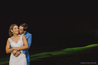 Destination Wedding de Tess e Felipe: do pódio olímpico ao altar!