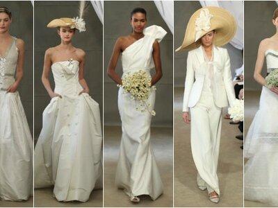 Desfile da colecção de vestidos de noiva Carolina Herrera 2013