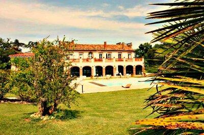 Les 10 plus beaux domaines de mariage en Haute-Garonne !