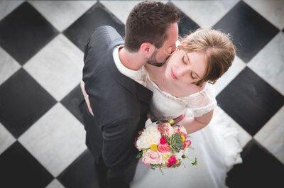 Entre poésie et romantisme, découvrez la douceur du mariage de Valérie et Maxime