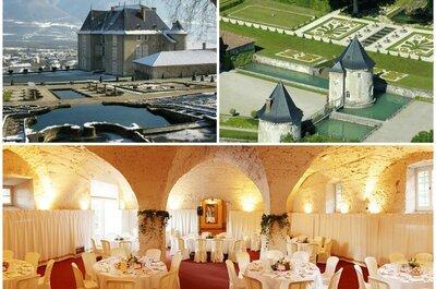 8 lieux de réception féériques pour votre mariage en Isère