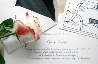 ¿Quieres unas invitaciones de boda únicas?