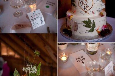 Inspirate en el otoño para ambientar tu boda gastando muy poco