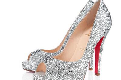 Luci ai piedi della sposa: sono le Scarpe Glitter!