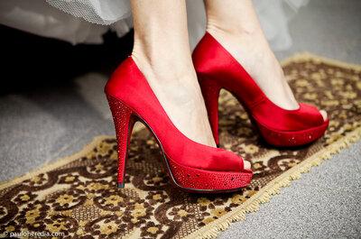 Inspirações para um casamento vermelho