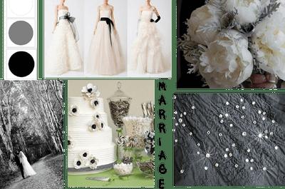 Trend 2013: un matrimonio in bianco e nero