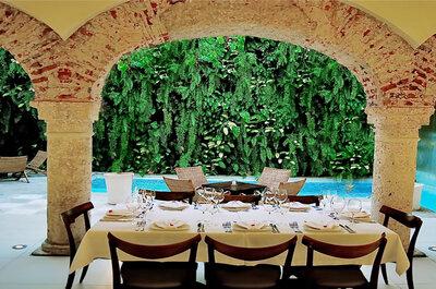 Que tal se casar em uma casa colonial em Cartagena das Indias: destination wedding dos sonhos