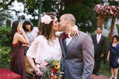 Roseli & Henrique: casamento de conto de fadas abençoado pelo Cristo Redentor