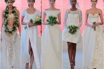 Dalla New York Bridal week le proposte più trendy per la sposa 2015