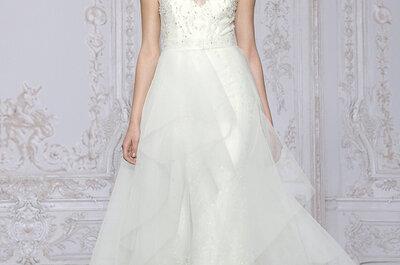 Abiti da sposa con la scollatura trasparente: un look davvero raffinato e sensuale per il tuo matrimonio