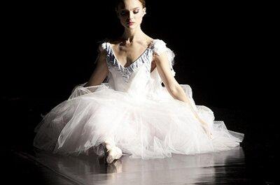 Vestido de noiva de Natalie Portman desenhado pelas autoras dos 'tutus' de 'Cisne Negro'