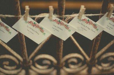Hochzeitsdekoration aus Papier