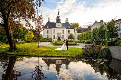Einblicke in die sommerliche Hochzeit von Jamina & Alex auf Schloss Gartrop