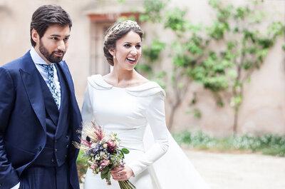El estilo de una novia clásica. ¡Las claves para lucir espléndida!