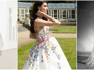 Die romantischsten Brautkleider 2017: Herzausschnitt, Spitzen & Co. für die Hochzeit