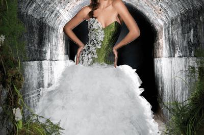 Vestidos de novia Jordi Dalmau inspiración en bosque mágico