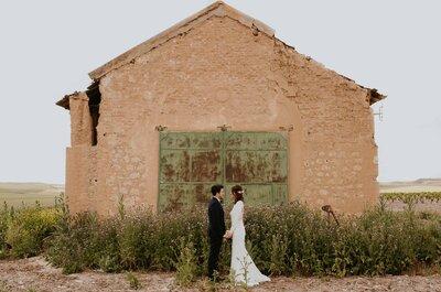 Enamorados en un festival: la boda de Dani y Raquel