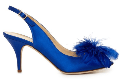 Zapatos de novia en color azul Kate Spade 2013
