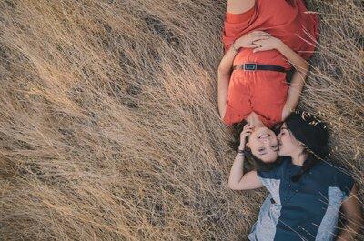 Camila y Ángela, ¡música, risas, amor y más amor!
