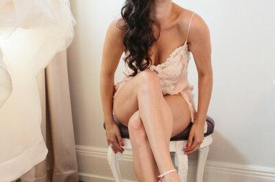 Cómo elegir la lencería perfecta para tu vestido de novia: El interior, tan importante como el exterior