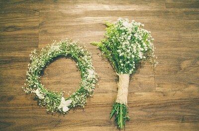 Een emotionele verassing voor het bruidspaar