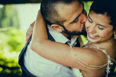 Cómo posar en las fotos de tu matrimonio. ¡Atención a estos consejos!