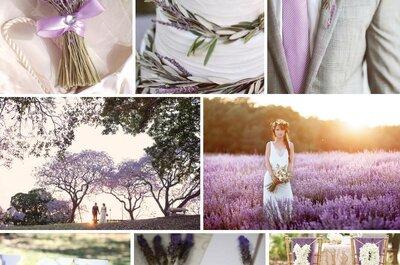 Cómo decorar tu boda con lavanda: El toque romántico perfecto