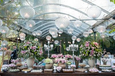 Como surpreender os seus convidados com doces de casamento surpreendentes e únicos
