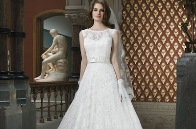 Lovely lacy looks from the Justin Alexander 2014 wedding dress collection