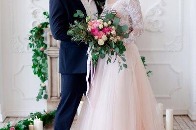 Дыхание ангелов: нежная свадьба Беллы и Дмитрия