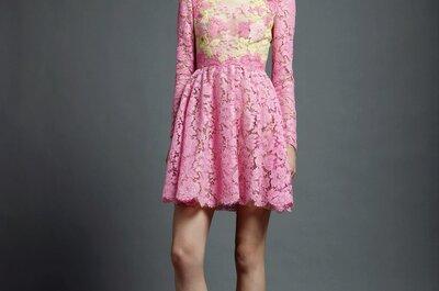 Vestidos de fiesta coloridos de Valentino 2013