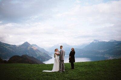 Welche Arten und Unterschiede an Traurednern gibt es in der Schweiz? Wir klären auf!