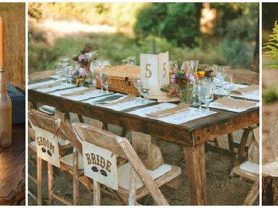 Cómo celebrar una boda DIY con mucho estilo: los 9 elementos imprescindibles