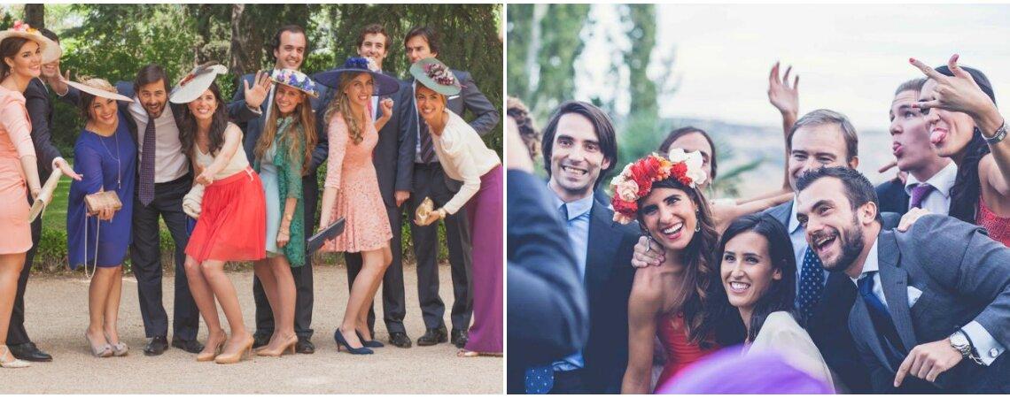 5 consejos para que las fotos de grupo en la boda no sean un fracaso