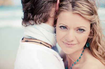 Destination wedding - die Traumhochzeit von Jutta und Manu am Strand von Mallorca