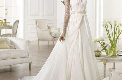Vestidos de novia con cuello halter