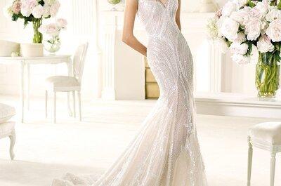Brautkleider mit Strass