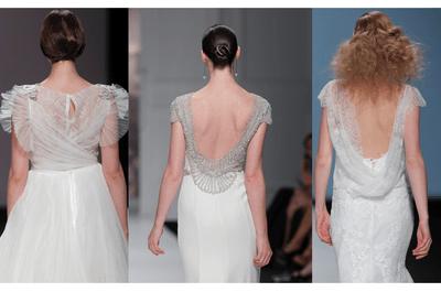 Espaldas que enamoran: La tendencia con los escotes más lindos de la Barcelona Bridal Week