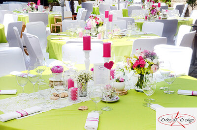 Hochzeitsdeko mit Stil